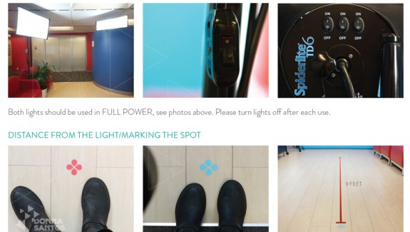 photo training manual, photo and video production donna santos studio