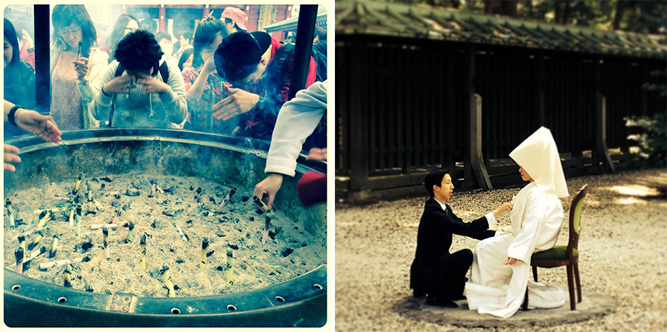 Traditional religious ceremonies in Tokyo