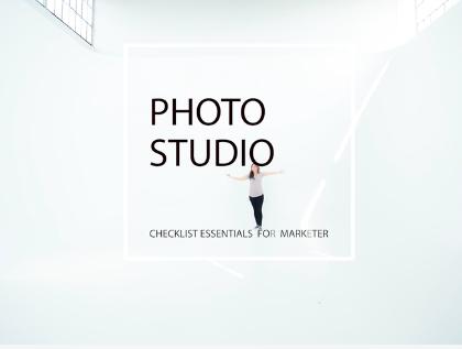 Photo Studio Checklist Essentials for Marketers