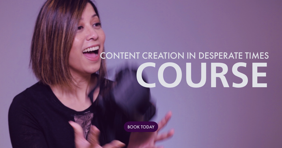 online course for content creation