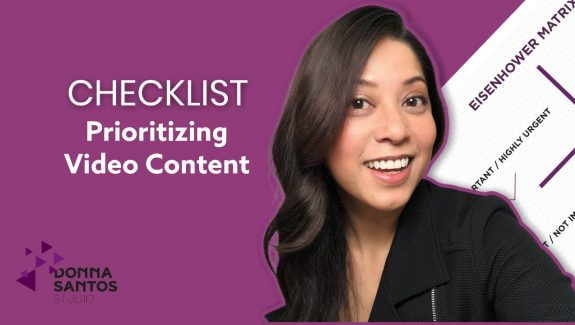 Video Content Creation Checklist